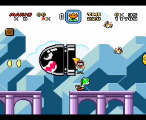 Super Mario World (SNES) 'Awesome'-level