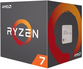 AMD Ryzen 7 1700 Boxed Wraith Spire koeler