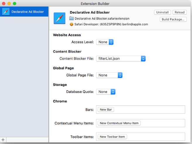 Content blocker (adblocker) in Safari 9.0 voor iOS 9 en OS X El Capitan