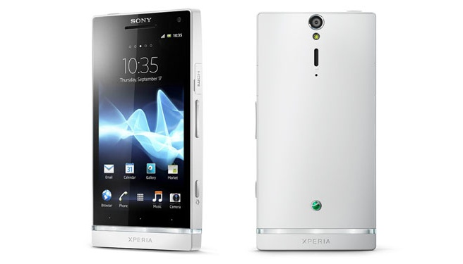 Sony Xperia S LT26i Wit