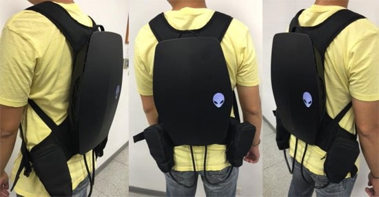Alienware vr-backpack