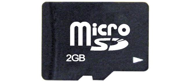TakeMS Micro SDHC, 2GB