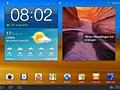 TouchWiz UX op de Galaxy Tab 10.1