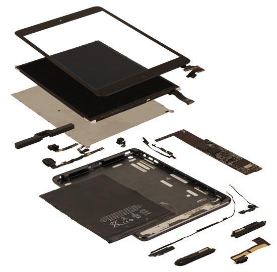 IHS teardown iPad mini 188 dollar onderdelen