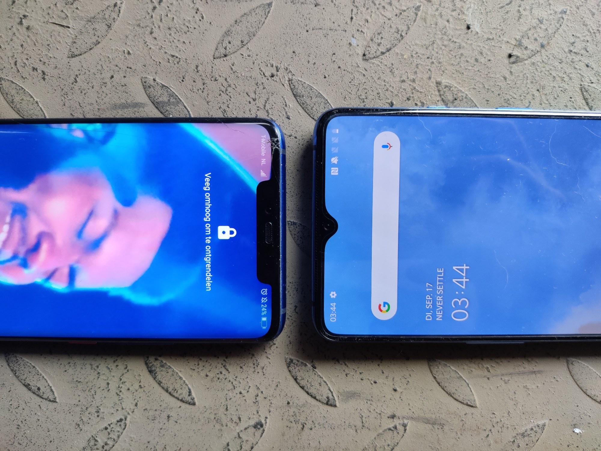Huawei Mate 20 Pro vs OnePlus 7T