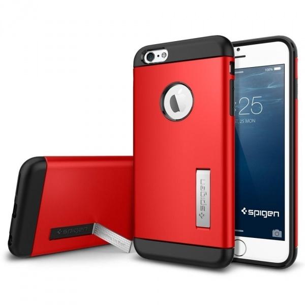 95b9a8a2bf Spigen Case Slim Armor Apple iPhone 6 Plus Electric Red (Apple ...