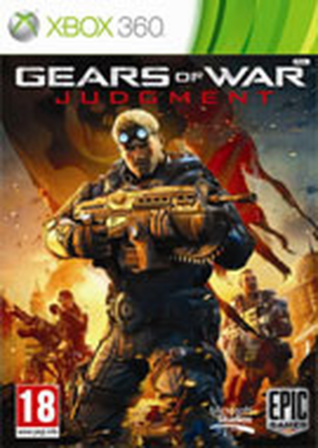 Box Gears of War: Judgement