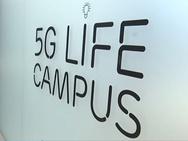 Logo 5g Life Campus op Corda Campus Hasselt