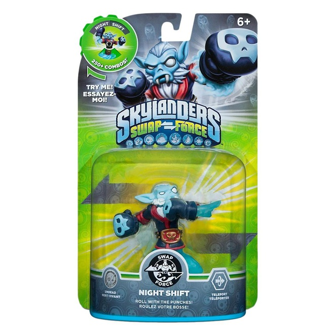 Skylanders Swap Force Night Shift, Nintendo 3DS, PlayStation 3, PlayStation 4, Wii, Wii U, Xbox 360, Xbox One