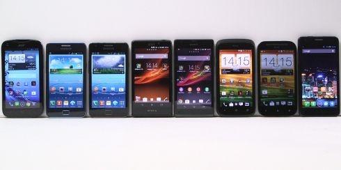 Midrange-smartphones 2013