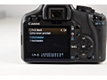 Canon Eos 500D recensie menu uitgebreid