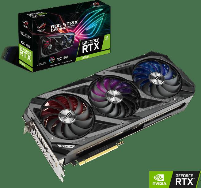 Asus ROG Strix GeForce RTX 3080 10G Gaming OC