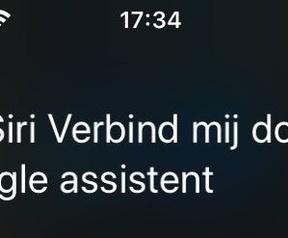 Siri - Google Assistant