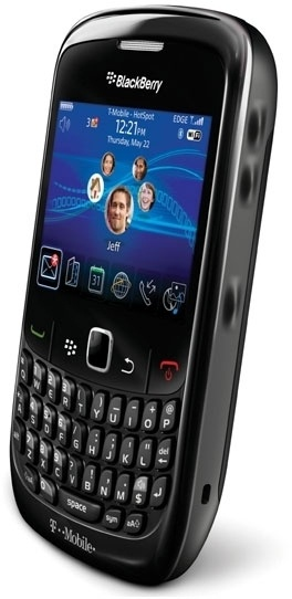 BlackBerry Curve 8520 Zwart