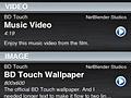 BD Touch -- 'Lounge-applicatie' voor het opvragen van eerder bekeken content