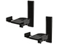 Goedkoopste BT77 Ultragrip Pro Side Clamping Loudspeaker Wall Mounts with Tilt and Swivel Zwart