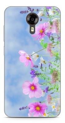 Just in Case Wileyfox Swift Hoesje roze bloemen
