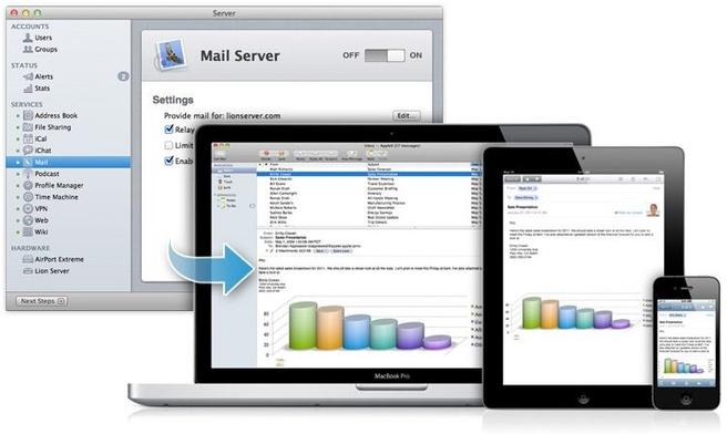 OS X Lion: Server Mail