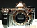 Alpha DSLR-A900 - doorzichtige voorkant