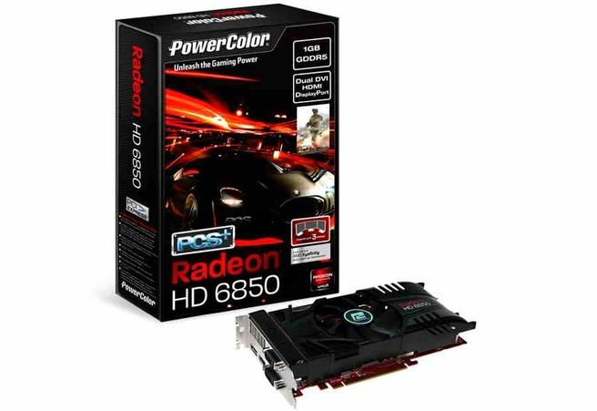 PowerColor HD 6850 PCS+