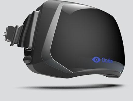 Vroeg concept Oculus Rift