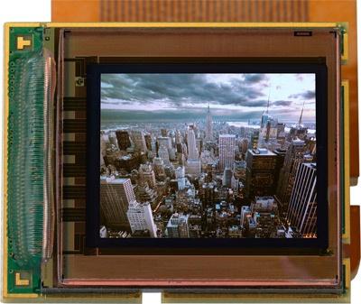 MicroOled oled-microdisplay 1280 bij 1024 pixels