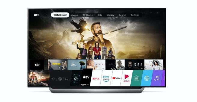 Apple TV op LG-tv