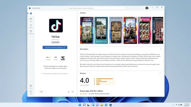 Android-apps op Windows 11