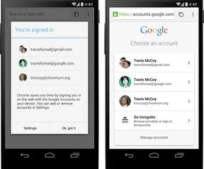 Chrome Android-bèta