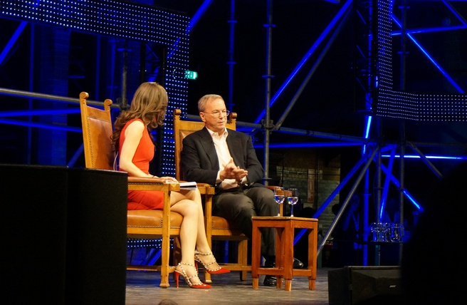 Eric Schmidt Start Up Fest 2016