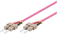 Microconnect 1m SC/UPC-SC/UPC OM4 Multimode LSZH