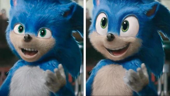 Sonic-uiterlijk