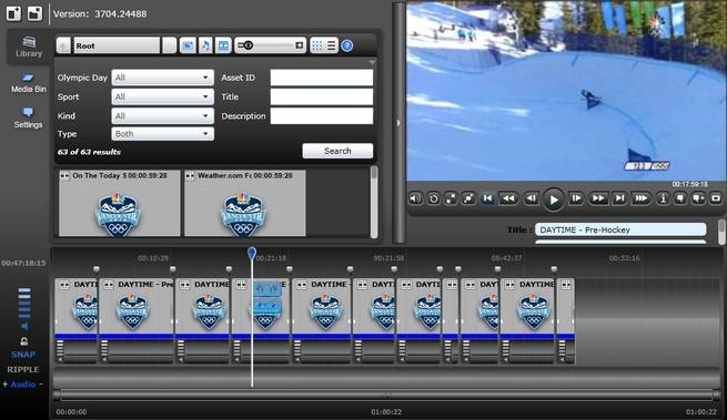 Rough Cut Editor gebouwd met Silverlight 4