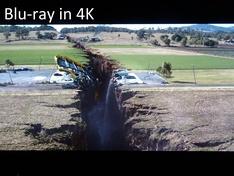 San Andreas UHD blu-ray