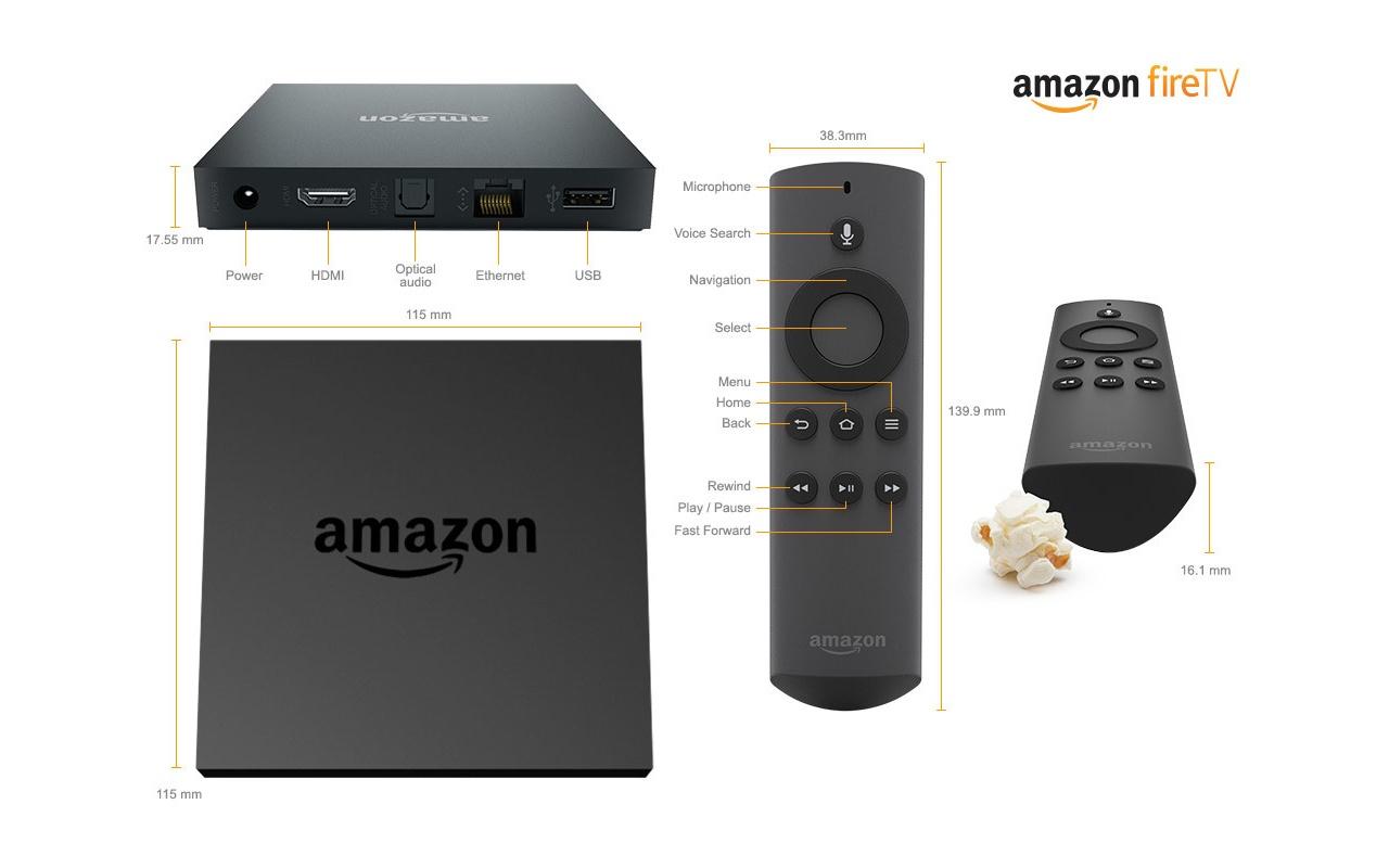 Amazon Fire TV 8GB