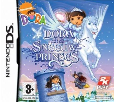 Dora Redt De Sneeuwprinses, Nintendo DS