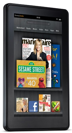 Amazon Kindle Fire huidig model