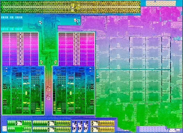AMD Trinity dieshot