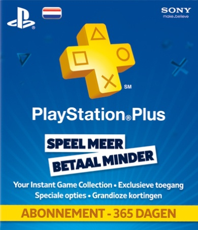 Sony PlayStation Plus Card 365 dagen (Nederland), PlayStation 3, PlayStation Portable, PlayStation Vita