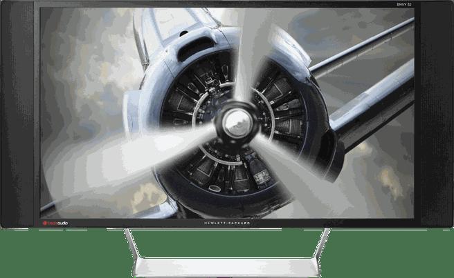 HP Envy 32 Media Display Zwart