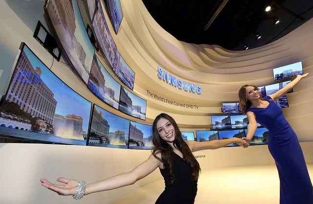 Samsung Curved uhd tv's