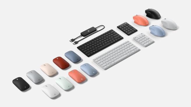 Microsoft accessoires 2020