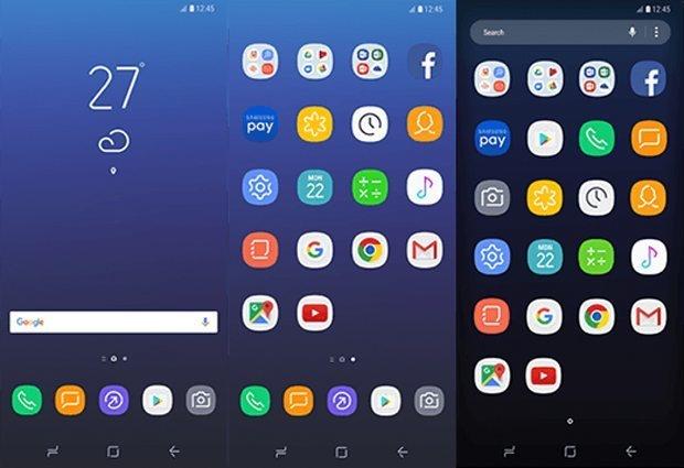 Samsung Galaxy S8 UX