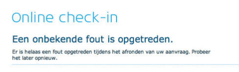 KLM-storing