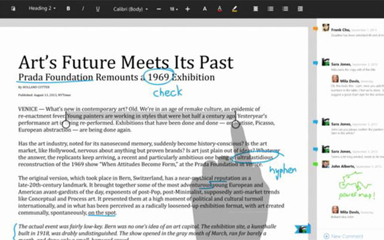 Microsoft Office voor Modern UI