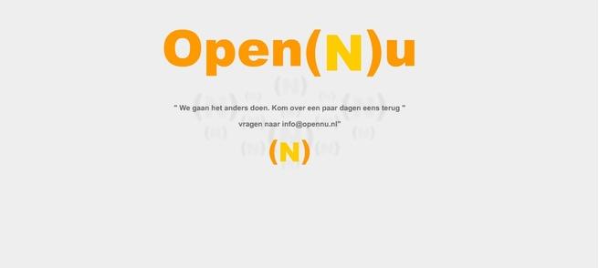 OpenNu offline
