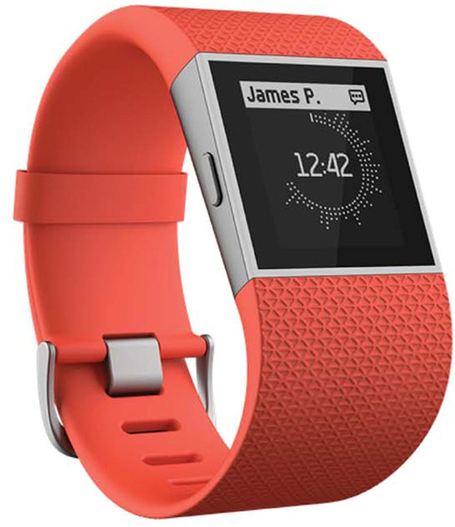 Fitbit Surge Small (oranje band)