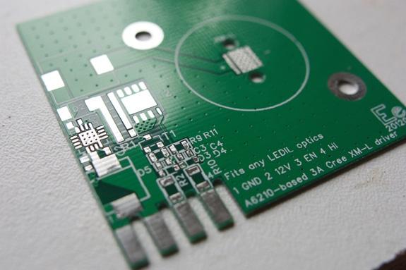 PCB van de XMLight