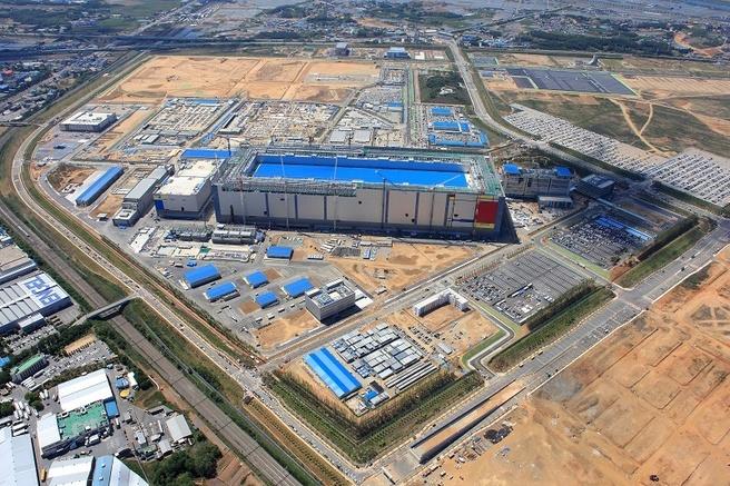 Pyeongtaek Samsung fabriek