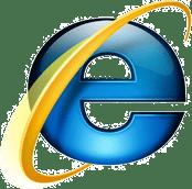 Microsoft Internet Explorer logo (groot)